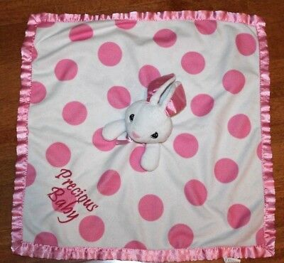 Precious Moments  Pink Baby Security Blanket Toy Lovey Plush LAMB -FLAW