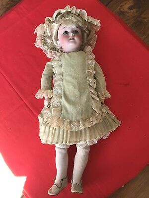 "Antique 20"" Handwerck Halbig 2 1/4 doll"