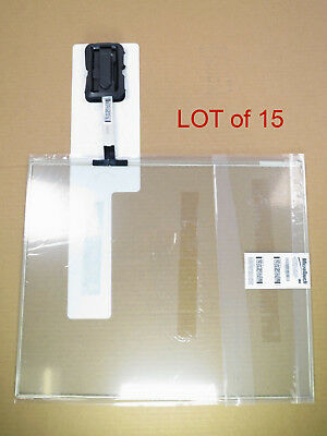 "LOT of 15 3M MicroTouch 1308651-217-01MA E155649 | 19.5"" Touchscreen Glass Panel"