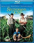 Secondhand Lions (Blu-ray Disc, WS, 2009) Robert Duvall Michael Caine NEW