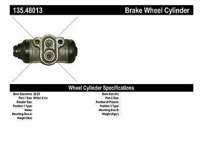 Drum Brake Wheel Cylinder-C-TEK Standard Wheel Cylinder Rear Right Centric