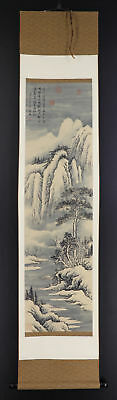 CHINESE HANGING SCROLL ART Painting Sansui Landscape  #E4343