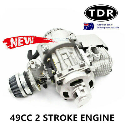 49CC 2 Stroke Pull Start Engine MINI Motor Pocket Quad Bike Scooter ATV Buggy AU