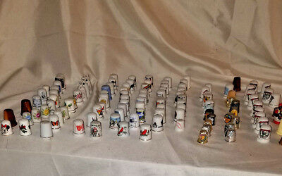 100+ Vintage Thimbles 12 Days of Christmas, Figures, Flowers, Inlays, LOOK!!!
