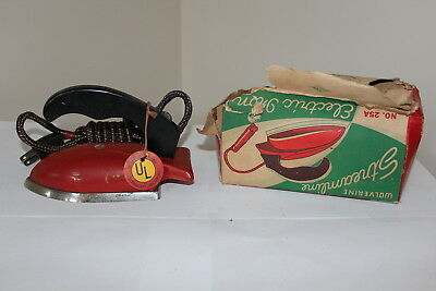Wolverine Sunny Suzy Toy Iron Childs Vintage Retro 1950s Stainless Cloth Cord