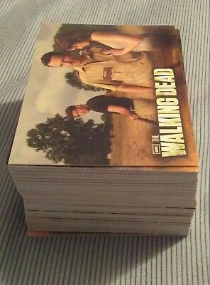 The walking dead season 2 trading card set of 80 cards see description