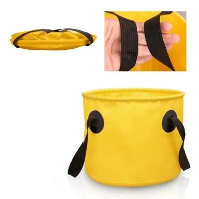 Outdoor Collapsible Bucket Portable Folding 10/20L Car Boating  Fishing Wash