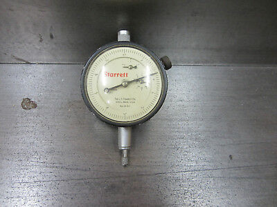 Vintage Starrett 25-511 Dial Indicator -- Good Condition -- American Machinist