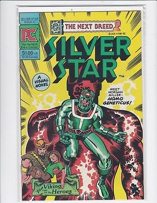 Silver Star #1 - Jack Kirby - 1984 - Very Fine/Near Mint