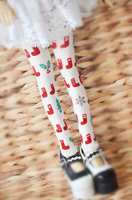 Lovely Red boots Leggings for BJD 1/6 YOSD 1/4 MSD 1/3 SD16 DD Doll Clothes SK19