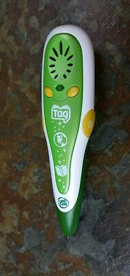 Leap Frog Tag Reader Light Green & White Stylus Pen #20800