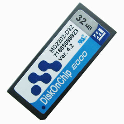 32MB M-Systems Disk On Chip 2000 DIP MD2202-D32 DOC Flash Memory Module