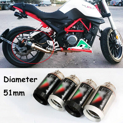 Universal Exhaust Muffler Pipe DB Killer for Motorcycle Exhaust System 38~51mm