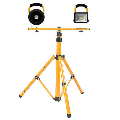Tripod Stand For LED Flood Light Camp Construction Site Work Emergency Lighting