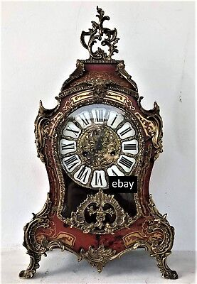 70%cheaper ANTIQUE FRENCH LOUIS XVI STYLE ROCOCO BOULLE MANTEL CLOCK