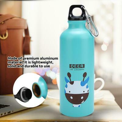 500ml Portable Travel Sports Bottle Aluminum Kids Water Bottle Cartoon Outdoor