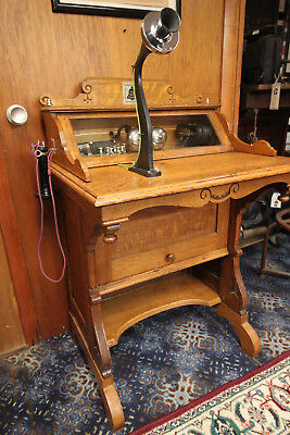 RARE 1890's Western Electric Vanity Long Distant Phone