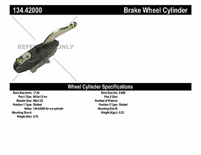 Drum Brake Wheel Cylinder-Premium Wheel Cylinder-Preferred Rear fits 71-73 1200