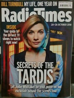 Radio Times Dr Doctor Who magazine Jodie Whittaker 2018 20 October