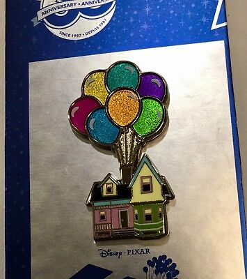Disney Store DS Up Carl And Ellie House 30th Anniversary Special Pin NEW DLR WDW