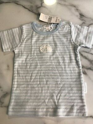 Purebaby Boys T-shirt. Size 00. 3-6 Months. Brand New With Tags