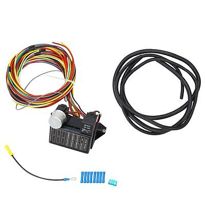 8 Circuit Universal Wire Harness Muscle Car Hot hot rod circuit universal wiring harness 8 schematic diagrams