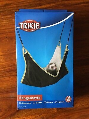 6913 Trixie Pet Rat Hanging Hammock Cage Bed Brown 45 x 45 cm