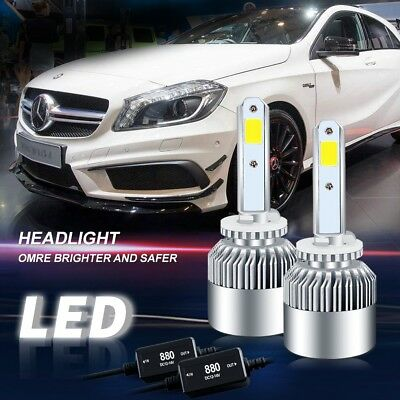 2 X 880 led Headlight Kit 160W 16000LM White High Power FOR Nissan Armada GMC