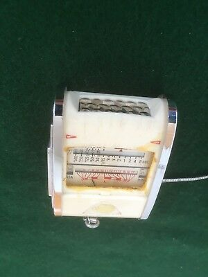 Vintage Gossen Color Finder Sixtry Light Meter In Leather Case And Chain