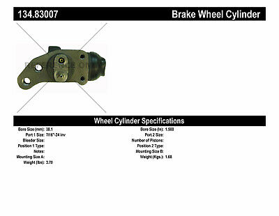 Drum Brake Wheel Cylinder-Premium Wheel Cylinder-Preferred fits 79-85 1724