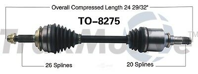 CV Axle Shaft Front Left SurTrack TO-8275 fits 08-14 Scion xD