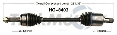 CV Axle Shaft Front Left SurTrack HO-8403 fits 10-13 Acura MDX