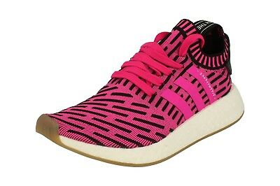 Adidas Originals Nmd_R2 Pk Mens Running Trainers Sneakers BY9697 Shoes