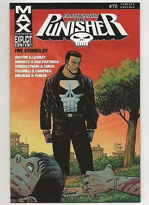 Punisher Max #75B  VF/NM  Marvel (2004 7th Series)   Variant Cover 1 in 15