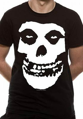 Licenza Ufficiale The Misfits - Skull Band Music T-SHIRT S-XXL