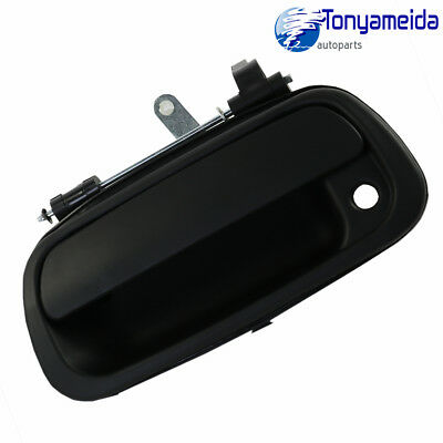Rear Tail Gate Tailgate Handle for Toyota Tundra Pickup Truck 2000-2006 Black
