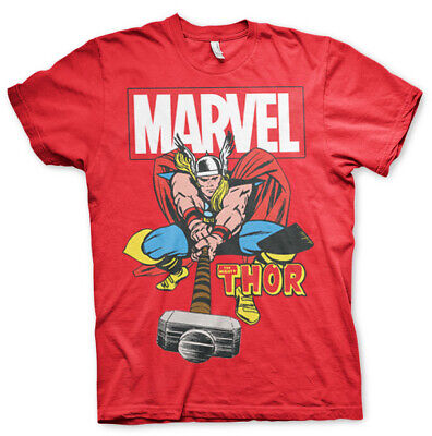 Licence Officielle Marvel Comics The Mighty Thor Homme T-SHIRT S-XXL Tailles