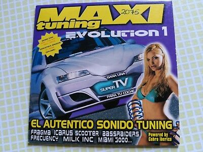 2 Track Promo Cd Single Maxi Tuning Evolution 1 - Spain 2002 Vg+