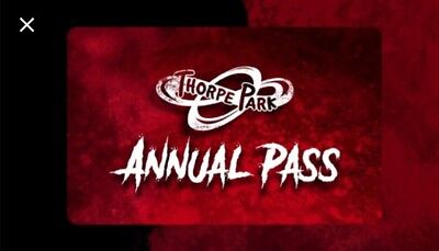 50% Off Thorpe Park Annual Pass Voucher