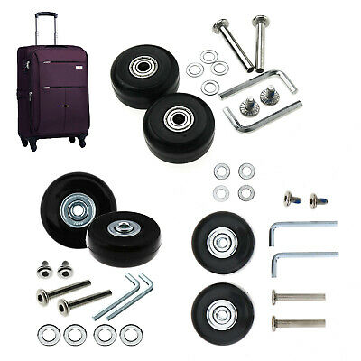 Travel Bags Replacement Luggage Wheels Set Suitcase Repair Kit OD 40mm-50mm