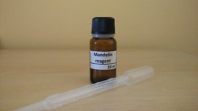 MANDELIN REAGENT + PIPETTE - 10 ml - DRUG TEST