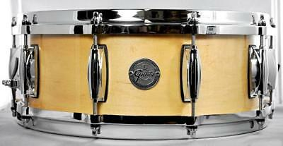 Gretsch Silver Series Snare Drum in Natural Maple Finish - 14 x 5