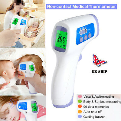 Baby Adult Body Care Non-Contact Forehead Infrared Medical Digital Thermometer A