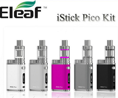75W Istick Pico Starter Kit Drip Box Tank TC Mod with Melo 3 +  LG 18650 Battery