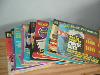 Practical Electronics Magazine 12 Issues From The 70's. All Shown