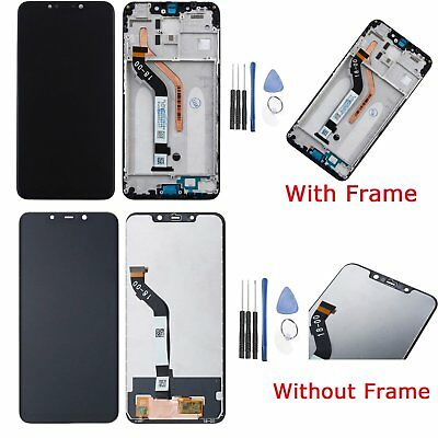 """For Xiaomi Pocophone F1 2018 6.18"""" LCD Display Touch Screen Digitizer + Frame BK"""