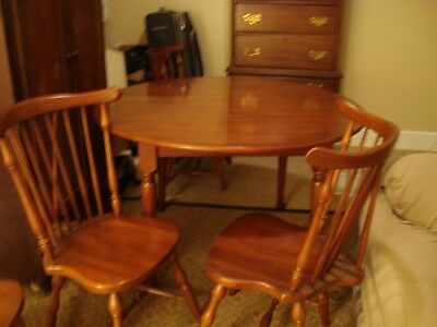 Henkel Harris Dining Room Set Cherry Chairs Table