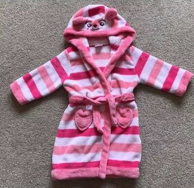 **Lovely Cosy Girls MINICLUB Dressing Gown Age 1-1/2 Yrs**