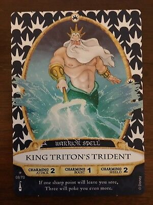 Sorcerer of the Magic Kingdom Card 8 King Triton's Trident