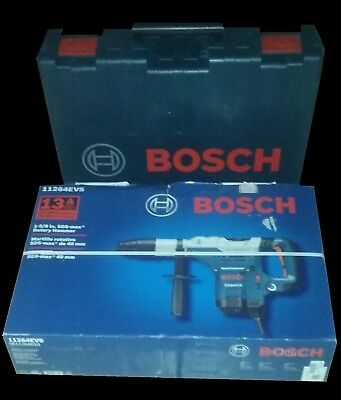 "Bosch 11264Evs Rotary Electric Hammer Drill Kit 1-5/8"" Sds Max"